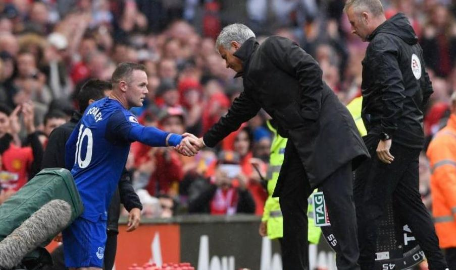 Rooney Everton Manchester United